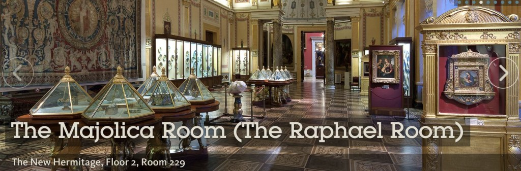 Hermitage -The Raphael Room - New Hermitage