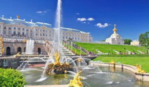 Peterhof - Cascada Central