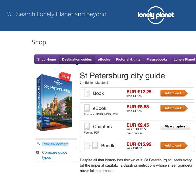 St Petersburg travel guidebook – Lonely Planet - Guias turisticas viaje Rusia